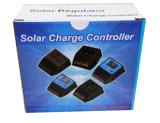 Contrôleur système solaire d'alimentation par batterie de régulateur de PWM 12V 24V 10A avec l'écran LCD et l'USB