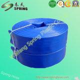 Boyau flexible de PVC Layflat de débit de l'eau d'irrigation agricole à haute pression pour la pompe