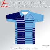 工場価格のAdverstisingの昇華人のポロシャツ