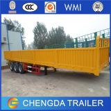 3 assen Aanhangwagens van de Vrachtwagen van het Zand van de Zijgevel van de Lading van 40 Ton de Zware
