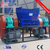 De Ontvezelmachine van de Schacht van de vierling voor het Verscheuren van het Houten Plastic pp Rubber van de Band