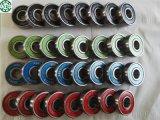 cuscinetto del pattino di 608RS ABEC-7 ABEC-9 ABEC-11 in guarnizione del metallo bianco del nero di colore rosso blu per il filatore della mano della puleggia