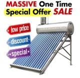 Calentador de agua solar del calentador de agua solar de energía solar del colector solar del acero inoxidable/del acero inoxidable de los colectores solares