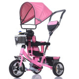 Bambini e Baby Foot Tricycle con Canopies e Handle (OKM-675)