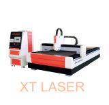 Cortador del grabador del laser de la fibra de la alta calidad de la velocidad rápida del laser de Xt