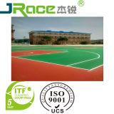 Surface d'intérieur extérieure approuvée d'enduit de terrain de basket de la CE