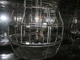 Het Verouderen van het Xenon van de Simulatie van de Zon van de Luchtkoeling van het roestvrij staal De Kamer van de Test