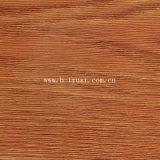 Hoja de madera de la textura del PVC de la prensa de la membrana