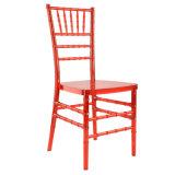結婚式およびイベントのためのパソコンのChiavariの赤いアクリルの椅子