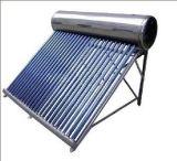 Calefator de água solar compato com bobina do tanoeiro