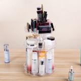 Neuer Entwurfs-rotierender transparenter kosmetischer acrylsauerablagekasten