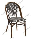 屋外のフランスの藤のコーヒー椅子(BC-08029)