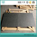 Il nero del granito della Cina G684/perla di Fuding/mattonelle fiammeggiate/granito nero/hanno lucidato/smerigliatrice/oggetto d'antiquariato/Sandblasted per il controsoffitto/lastra/mattonelle/scala/dispersore
