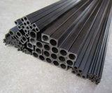 Tubo del cuadrado de la fibra del carbón con el interior redondo