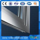 Ventana de cristal de aluminio de la doble vidriera de la inclinación y de la vuelta de la rotura termal