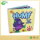 Offset impresión de folletos Die Cut Junta niños Libro / Libro Infantil / A5 Tapa blanda niños del bebé libro (CKT-BK_005)