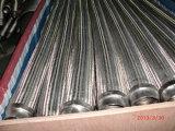 Pipe ondulée du métal SUS304 flexible