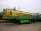Des Aluminiumlegierung-Kraftstoff-/Treibstoff-/Benzin-/Öl-/LPG Tanker für Speicherung