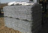 PVC-überzogener Draht-sechseckiges Ineinander greifen Gabion/Gabion Bastket/Gabion Kasten