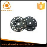 колесо чашки диаманта 5-Inch меля для пола бетона/гранита