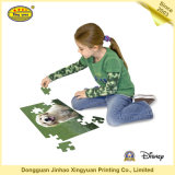 Игра детей головоломки зигзага картона