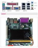 原子D425。 D525、2X1000M LANのサポートDDR3、4XCOMはMainboardを移植する
