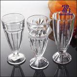 Pierna delgada Copa de helado de vidrio (GB1023H)