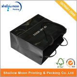 Kundenspezifische Marken-glatte schwarze Einkaufstasche (QYCI1508)