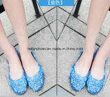 latest女性高品質の水晶ゼリーのサンダル(FF614-4)
