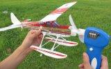 Modelo accionado Kit-PT1401 del juguete del plano de la espuma de la goma