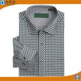 [هيغقوليتي] رجال كلاسيكيّة نسيج مربّع [درسّ شيرت] عمل قميص رسميّة