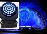 新しい6in1 RGBWAの紫外線36X15W洗浄LEDズームレンズの移動ヘッドライト(ML3615ZOOM)