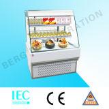 유럽식 정면 열려있는 샌드위치 케이크 전시 냉각장치 냉장고