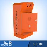 Jr330-Sc-Ow Emergency Phone Automatico-Dial Roadside Telephone SOS Call Box con Robust Body