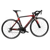 Kohlenstoff-Faser-Straßen-Fahrrad mit vollen Shimano Zubehör