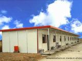 Casa prefabricada caliente de la estructura de acero de la luz de la exportación de China