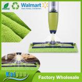 Spray-Fußboden-Reinigungs-Mopp mit Schläge Microfiber scheuernauflage