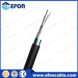 De lucht Optische Kabel van de Vezel van het Staal van de zelf-Steun Gepantserde (GYFTC8S)