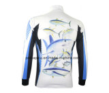 Long Rapido-Drying Sleeve Fishing Jersey con Sublimation Printing