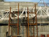 Edificio scolastico rotondo del fascio del tubo del tetto prefabbricato della struttura d'acciaio