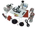 8 dans 1 machine combinée de sublimation de machine de presse de la chaleur