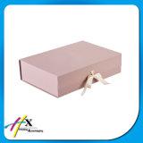 高品質のリボンが付いている印刷できるボール紙のペーパーパッケージボックス