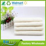 Paño de bambú de la fibra de la cocina de la colada no del palillo de la limpieza blanca del petróleo