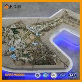 De Modellen van de Scène van de Modellen van de Planning van Urban&Colleges/Project die het Model/Saoedi-arabische Model van de Planning bouwen Waa
