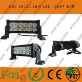 Dessus ! ! ! guide optique de 7inch 36W LED, guide optique de 3W Epsitar LED outre de l'entraînement de route de la lumière de travail de LED