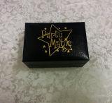 Caixa de carimbo quente dourada do botão de punho do logotipo