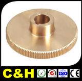 Commande numérique par ordinateur de haute précision de prix usine usinant l'ajustage de précision de pipe en laiton passé au bichromate de potasse avec ISO9001 : 2008