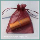 Aangepaste Embleem van de Gift van Organza van de Zak van het Pakket van Organza het Kosmetische Zak
