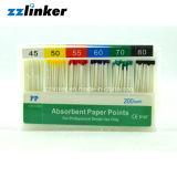 Lk-R21 puntas de papel absorbentes dentales del CE FDA el 2%