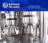 El PLC controla la máquina de rellenar de la bebida automática del jugo
